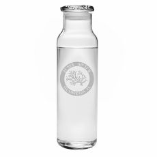 Custom Coordinates Coral Water Bottle