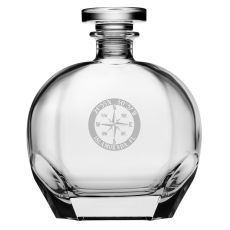 Custom Coordinates Compass Rose Puccini Decanter