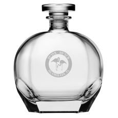 Custom Coordinates Flamingo Puccini Decanter
