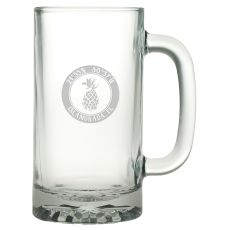 Custom Coordinates Pineapple Pub Beer Mug S/4