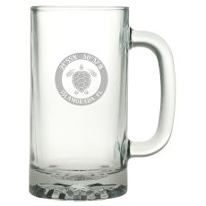 Custom Coordinates Sea Turtle Pub Beer Mug S/4