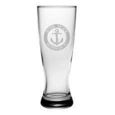 Custom Coordinates Anchor Grand Pilsner Glasses S/4