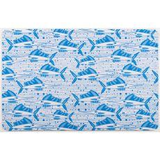 Sailfish School Blue Floor Mat
