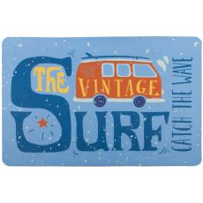 Vintage Surf Van Floor Mat