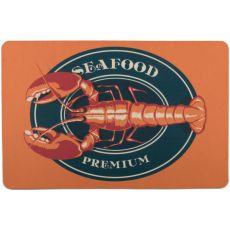 Lobster Seafood Floor Mat