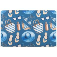 Summer Holiday Floor Mat