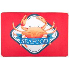 Crab Seafood Floor Mat