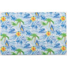 Hawaiian Surf Floor Mat