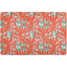 Palm Springs Coral Floor Mat