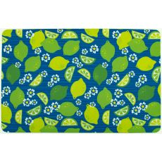 Limes and Daisies Floor Mat
