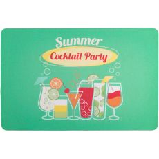 Cocktail Party Floor Mat