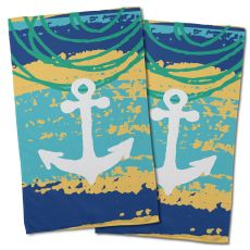 Bimini Anchor Hand Towel (Set of 2)