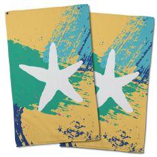Bimini Starfish Hand Towel (Set Of 2)