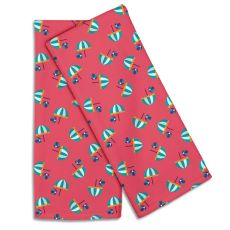 Umbrellas & Beach Balls Hand Towel (Set Of 2)