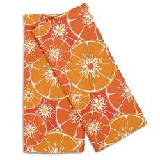 Orange Slices Hand Towel (Set Of 2)