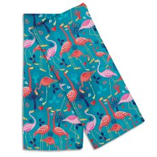 Flamingo Love Hand Towel (Set Of 2)
