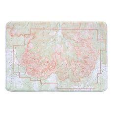 Cedar Breaks National Monument, UT (1936) Topo Map Memory Foam Bath Mat