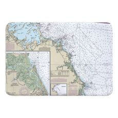 Massachusetts Bay South Memory Foam Bath Mat