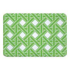 Key Largo Passport Green Memory Foam Bath Mat