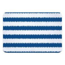 Siesta Key - Rumors Blue Memory Foam Bath Mat