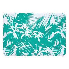 Walker's Cay Island Getaway Aqua Memory Foam Bath Mat