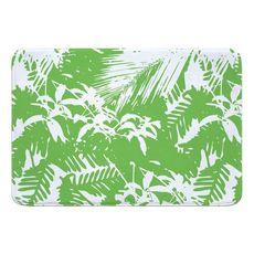 Walker's Cay Island Getaway Green Memory Foam Bath Mat