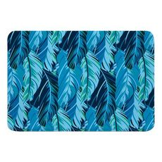Midnight Jungle Memory Foam Bath Mat