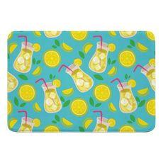 Lemonade Memory Foam Bath Mat
