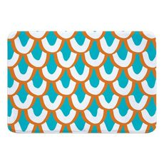 Mermaid Scales Memory Foam Bath Mat