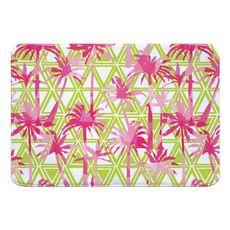 Palm Resort Memory Foam Bath Mat
