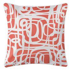 Tahiti Coral Coastal Pillow