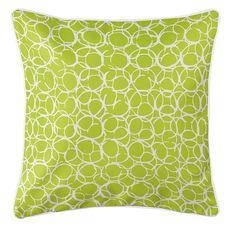 Bora Bora Lime Coastal Pillow