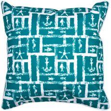 Ocean Squares Pillow