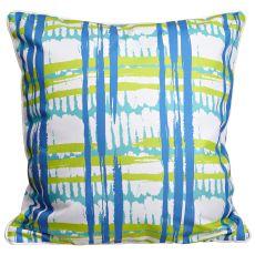 Coastal Grid Pillow