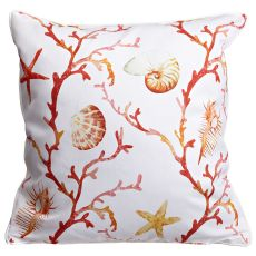 Coral Lattice Pillow