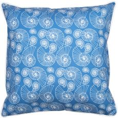 Nautilus Outline Pillow