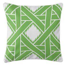 Key Largo - Passport Green Coastal Pillow