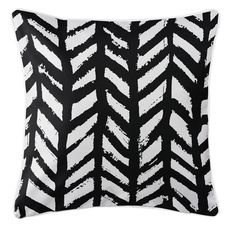 Grand Bahama - Drifter Black Coastal Pillow
