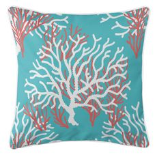 Nassau - Coral Beach Coastal Pillow