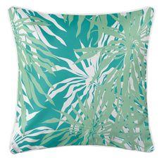 Palm Springs Coastal Pillow - Mint, Aqua