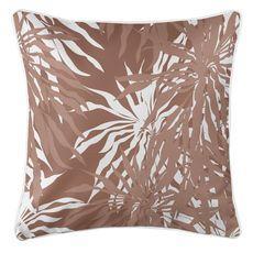 Palm Springs Coastal Pillow - Brown