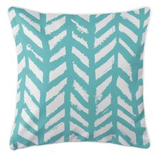 Grand Bahama - Drifter Aqua Coastal Pillow