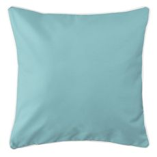 Sunset Key - Companion Aqua Coastal Pillow