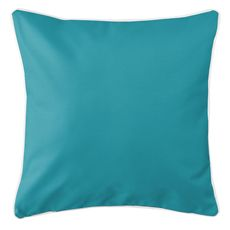 Nassau - Companion Turquoise Coastal Pillow