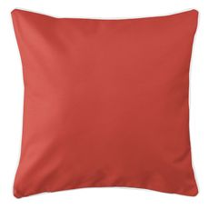Walker's Cay - Companion Red Coastal Pillow