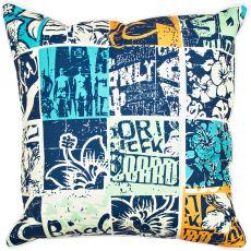 Surfing Patchwork Pillow