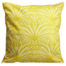Art Deco Goldenrod Pillow