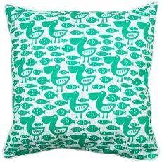 Pelican & Fish Pillow