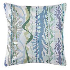 Seaweed Drift Coastal Pillow