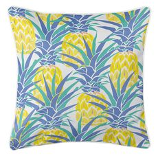 Pineapple Isle Coastal Pillow